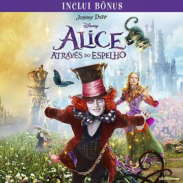 Alice Através do Espelho (com Bônus Especiais)
