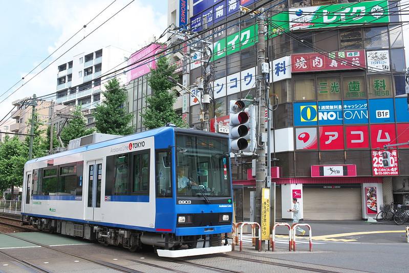 Tokyo Train Story 都電荒川線 2016年7月10日