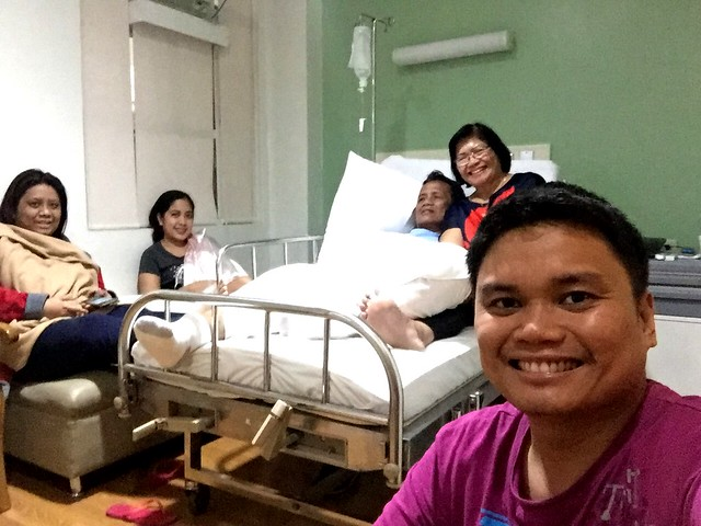 hospital stay