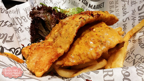 Salted Egg Fish and Chips