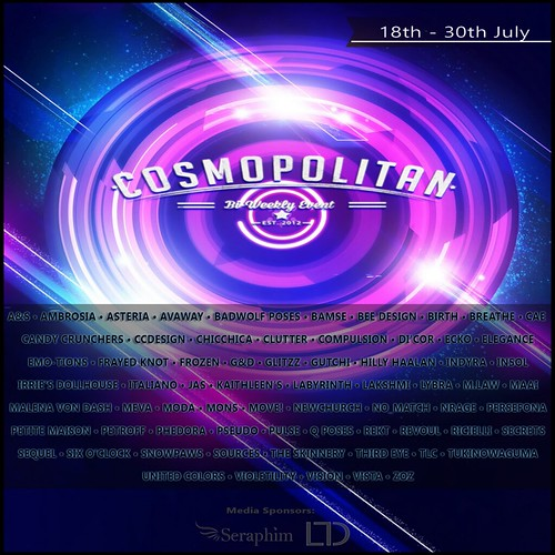 Cosmopolitan {Round 22_4} 18th - 30th July
