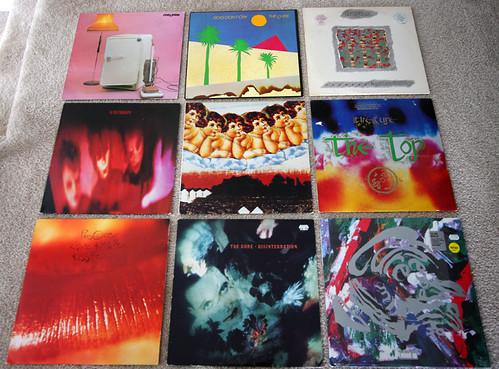 The Cure Vinyl - Albums