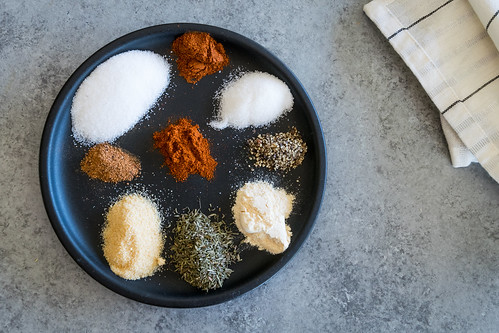 9 seasonings and spices