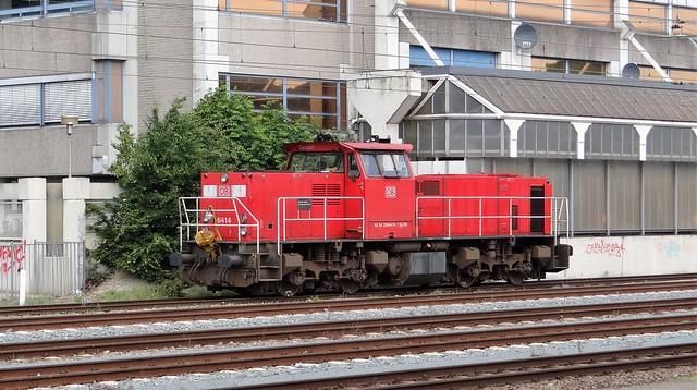 Station Sittard DB Schenker 6414 Sander 6400
