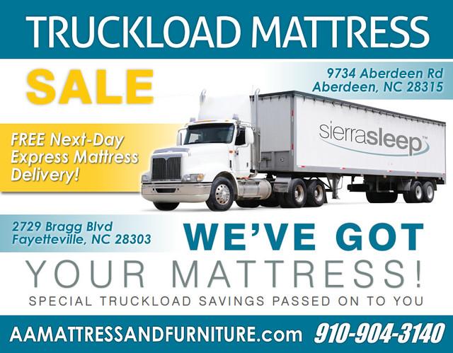 Truckload Sierra CL New