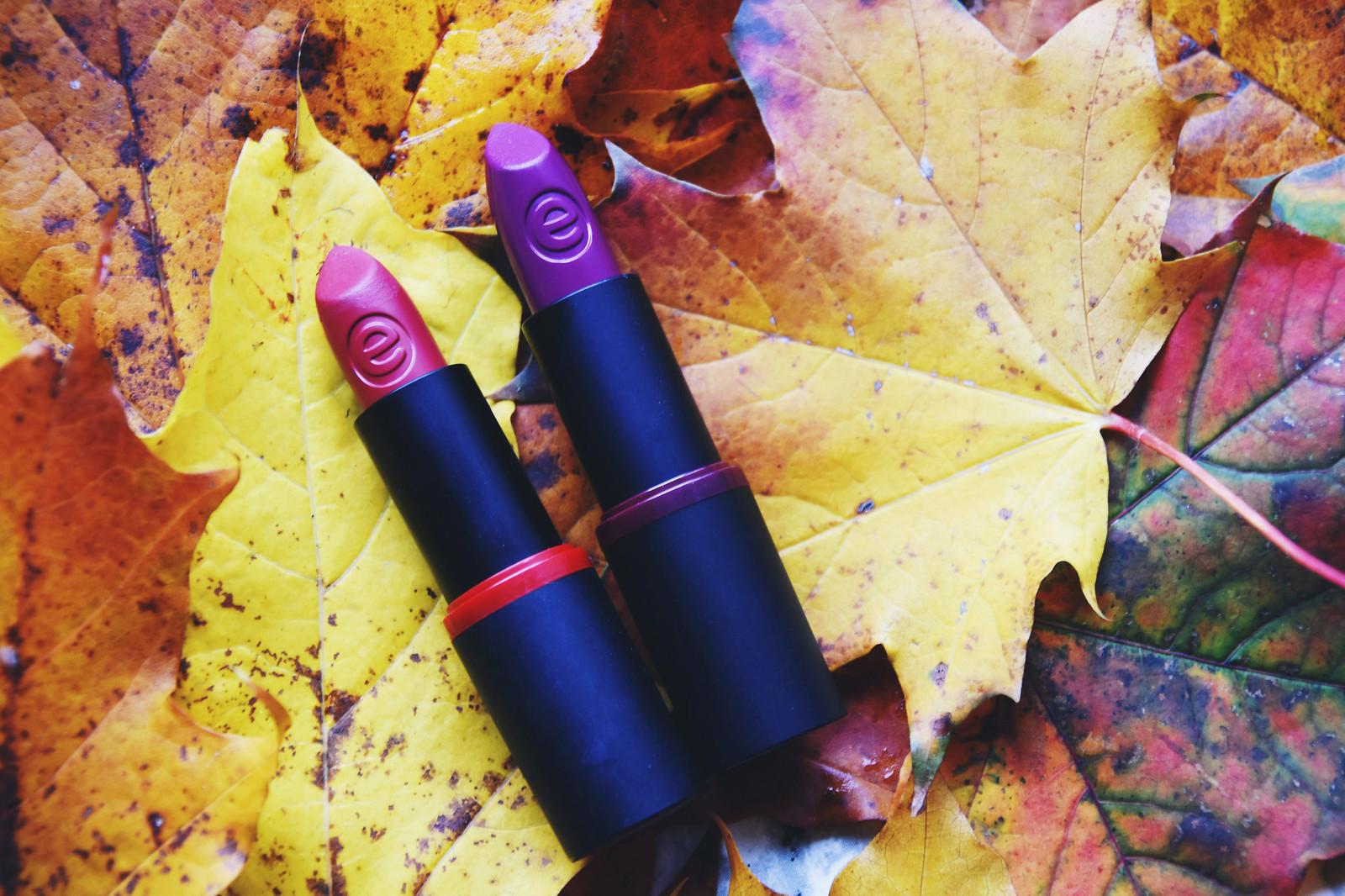 essence velvet matte lipstick review