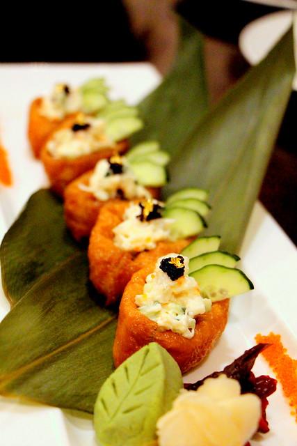 Lobster Inari Sushi