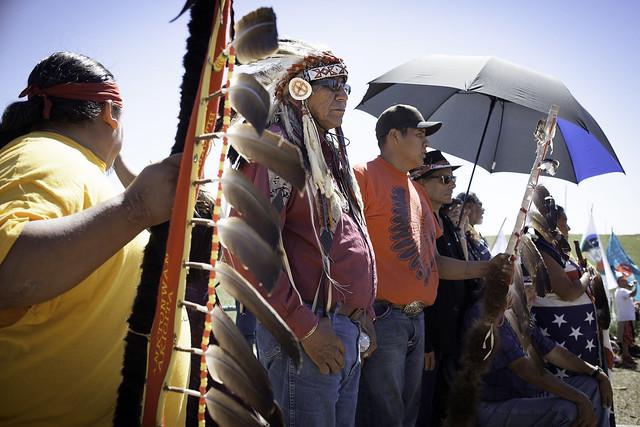 Lakota chief Arvol Looking Horse