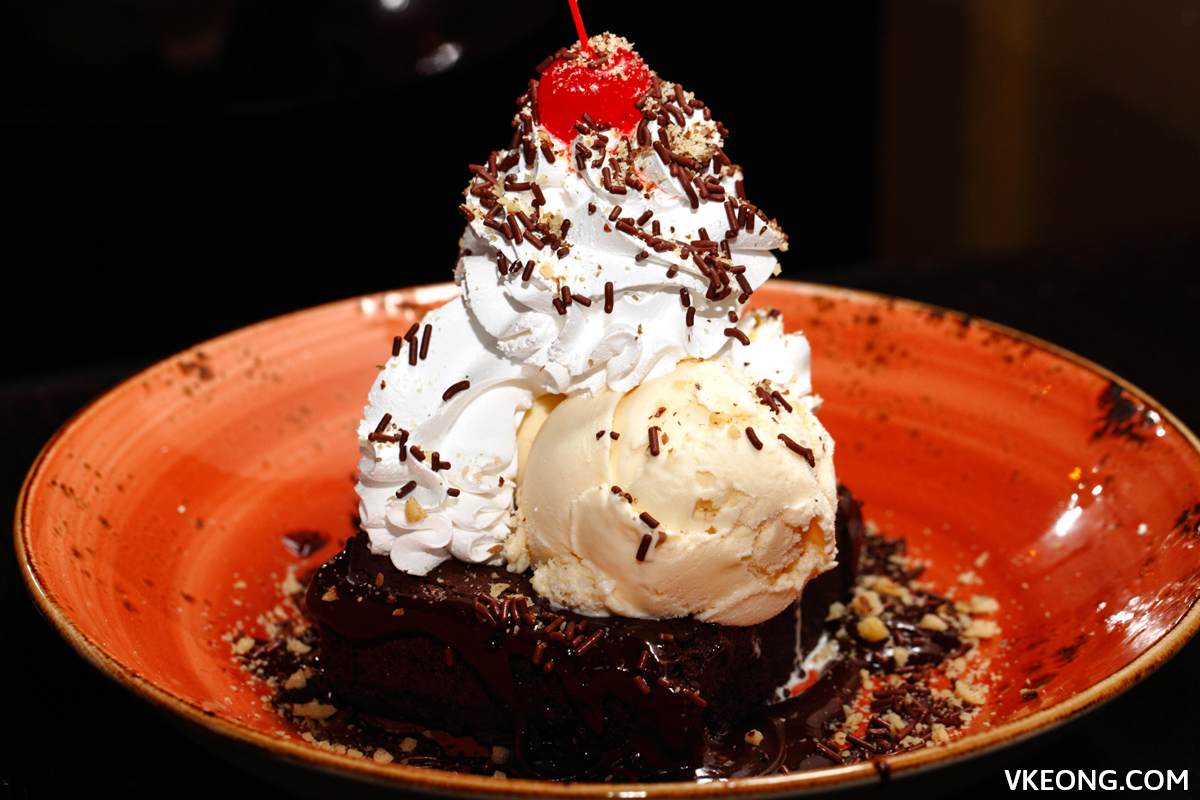 Hard Rock Cafe KL Hot Fudge Brownie