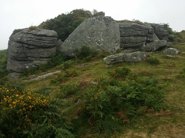 Mel Tor (lower outcrop)