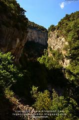 El Cañón de Añisclo (Huesca, Aragón)