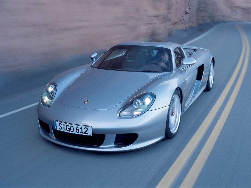 Porsche Carrera GT (кузов 980). 2003 – 2006 годы
