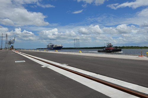 JAXPORT berth goes electric as new cranes approach