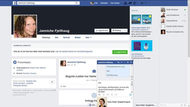 cilla facebook hm