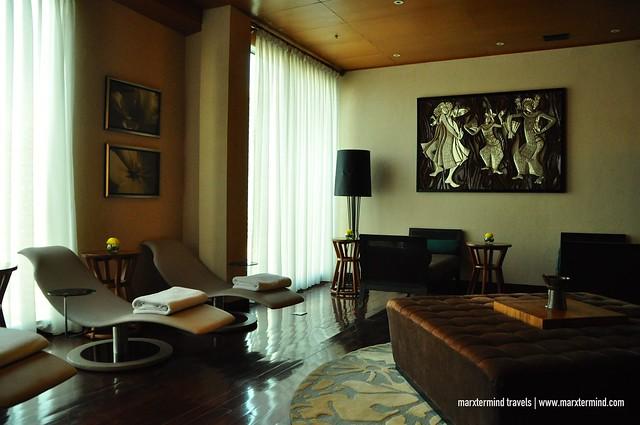 Hotel Indonesia Kempinski The Spa Waiting Area