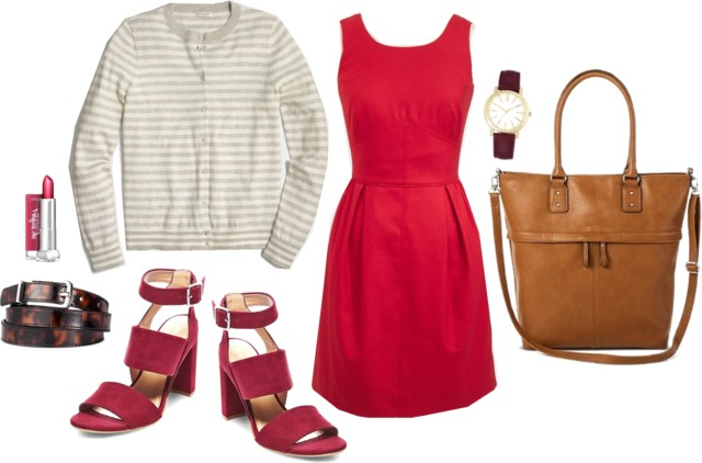 What I Wish I Wore, Vol. 150 - Red and Burgundy | Style On Target blog