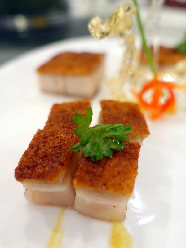 XIU Fine Cantonese Dining Restaurant- Cantonese Style Crispy Pork Belly