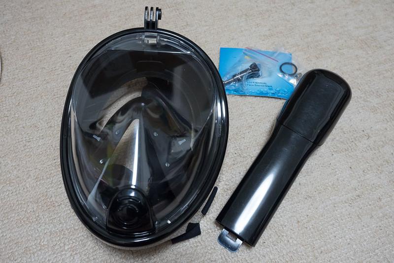 フルフェイスシュノーケリングマスク-1