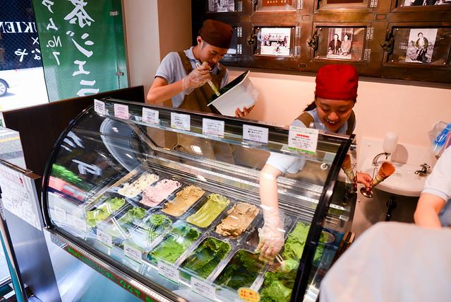 日本/東京/淺草–世界最濃抹茶冰淇淋–壽々喜園