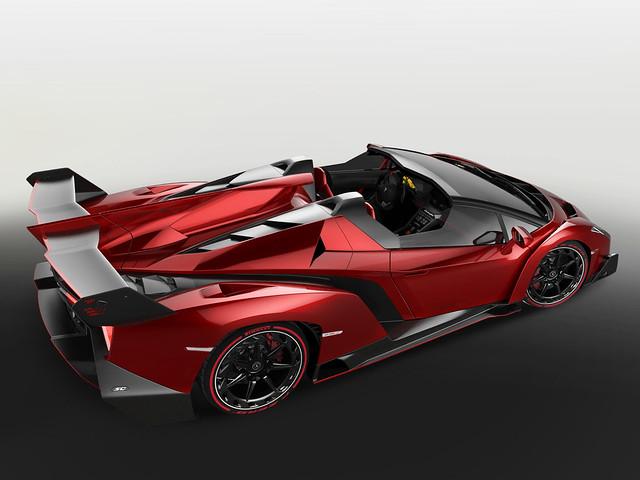 Lamborghini Veneno Roadster. 2014 год