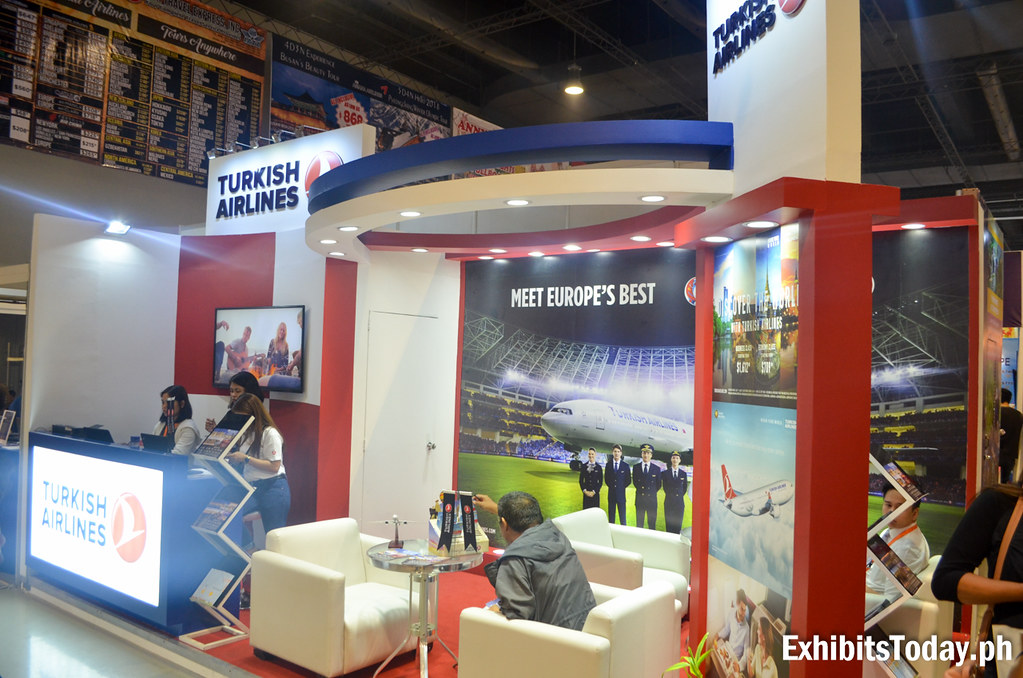 Turkish Airlines Exhibit Booth (side)