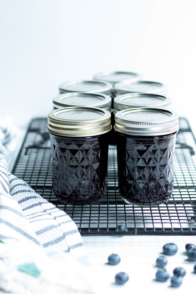 Blueberry Jam // Preserving at Home
