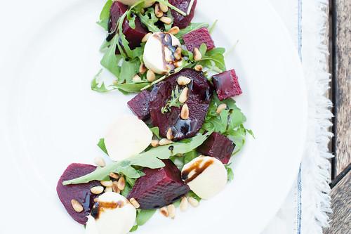 Beetroot & Bocconcini Salad