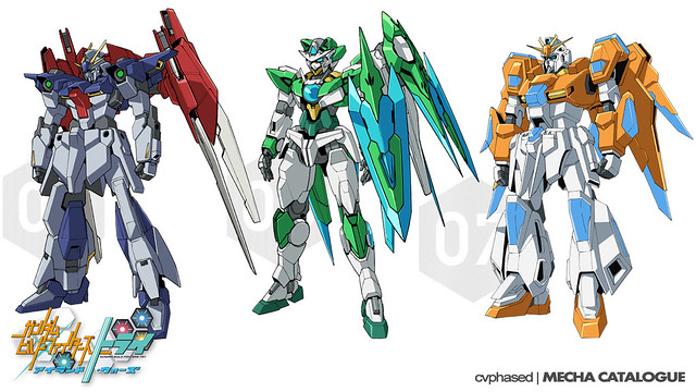 Gundam Build Fighters Tri ~Island Wars~ - New Mechanics