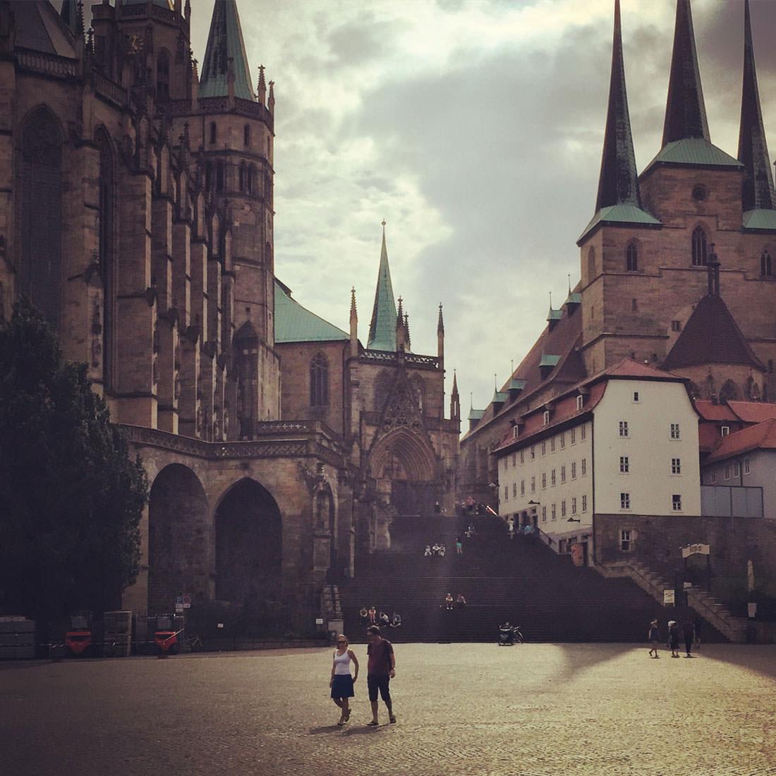 Stadtbummel in Erfurt