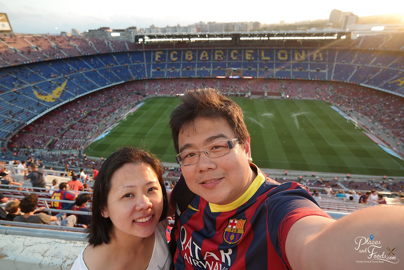 barcelona football match