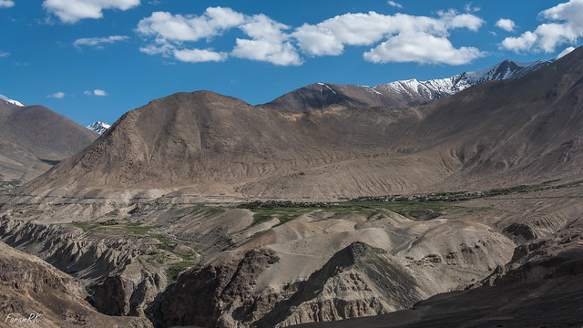 Khardung from the north