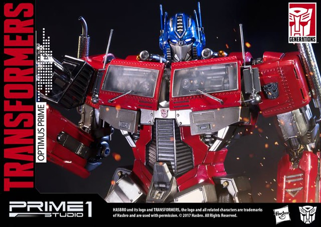 Optimus Prime Generations