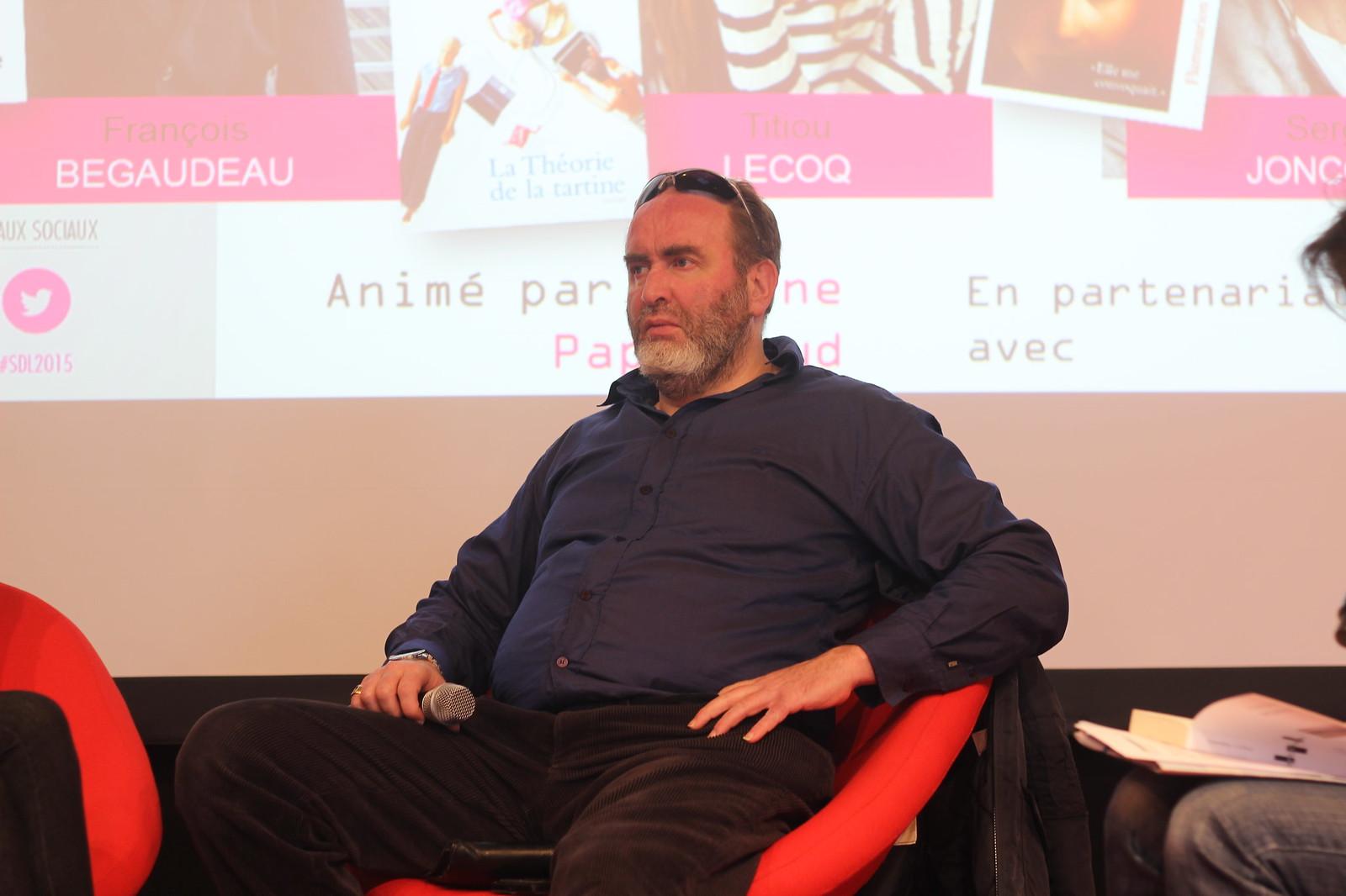 Serge Joncour - Salon du Livre de Paris 2015