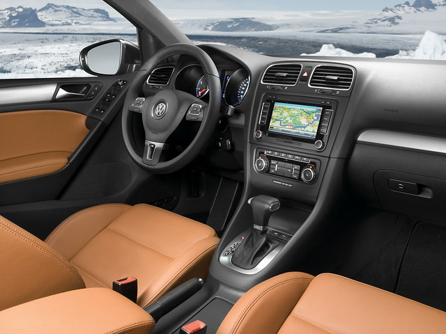 Салон Volkswagen Golf 6. 2008 – 2012 годы