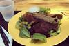 San Pedro Square Market - Robees Falafel Gyro Salad