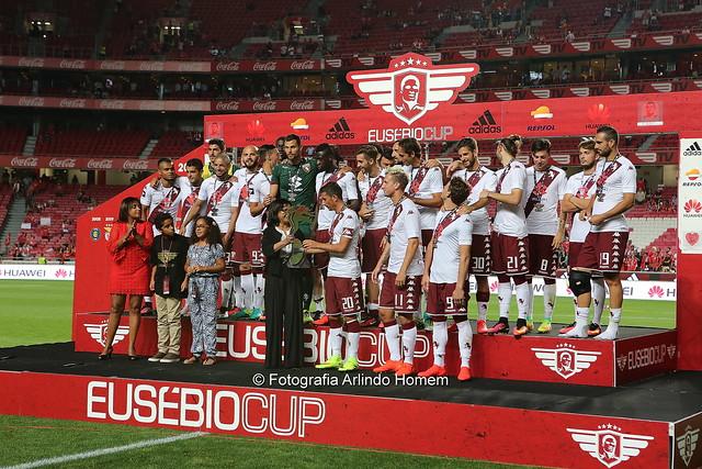 Torino vence Eusébio Cup 2016