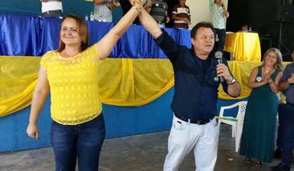 Empresária do PSL é escolhida como vice do prefeito e candidato à reeleição de Óbidos, mario henrique e rose