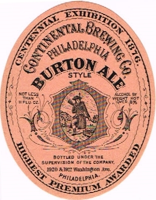 Philadelphia-Burton-Ale--Labels-Continental-Brewing-Company