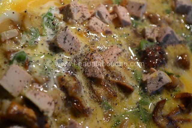 Omelette aux Cèpes & au Foie Gras © Ana Luthi Tous droits réservés 04