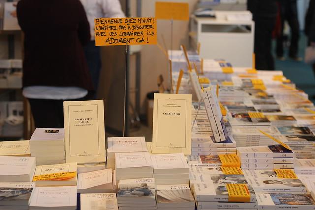 Les éditions de Minuit - Salon du Livre de Paris 2015