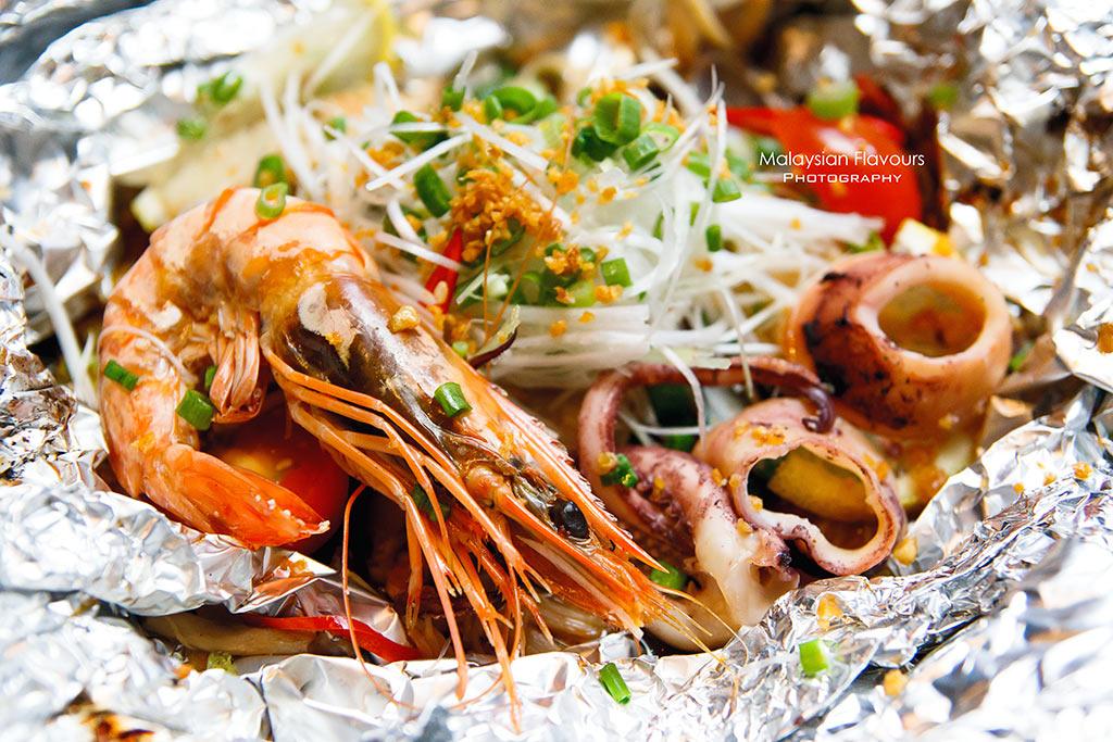 Ippudo Bangsar Shopping Centre 2016 seafood foil yaki