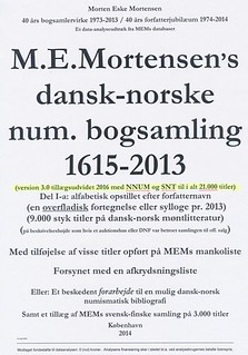 NEW BOOK: SCANDINAVIAN NUMISMATIC BIBLIOGRAPHY, 3RD ED.