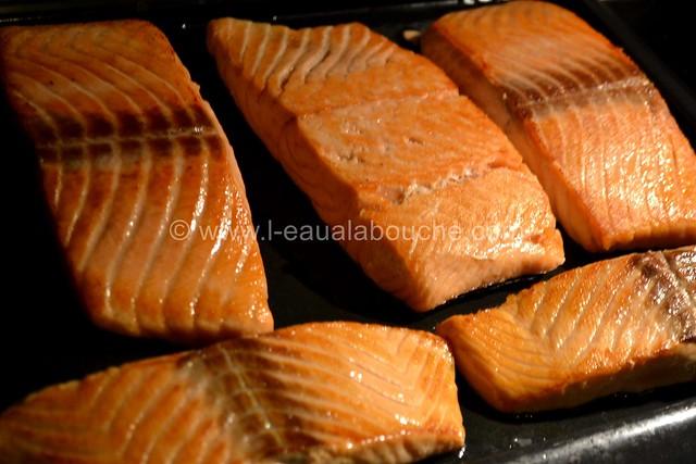 Saumon à la Plancha Beurre Epicé & à la Ciboulette © Ana Luthi 0003