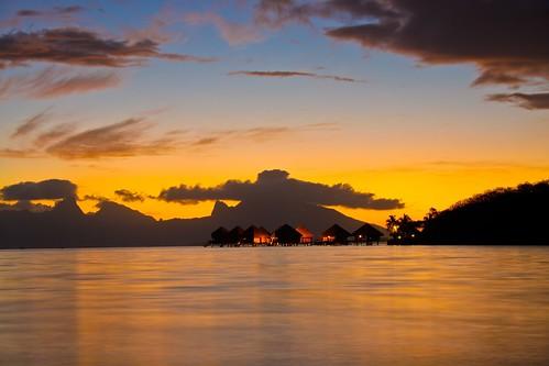 desde el hotel Sofitel Tahiti