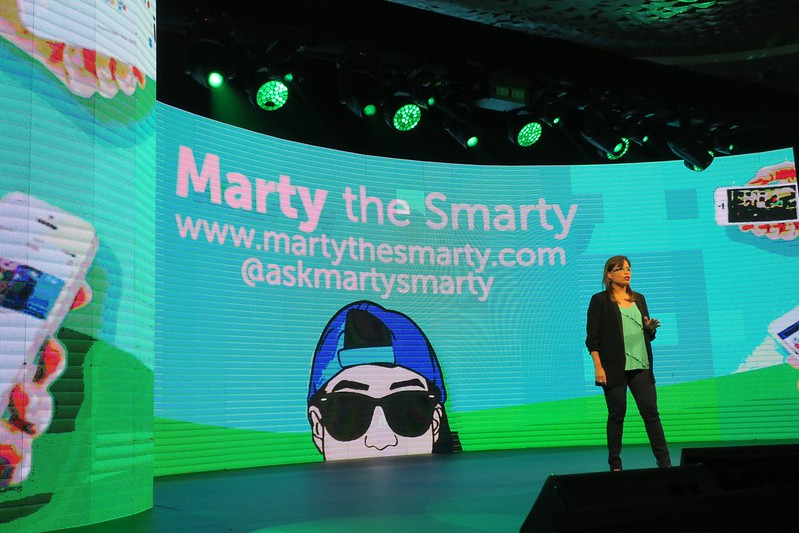 At Smart event