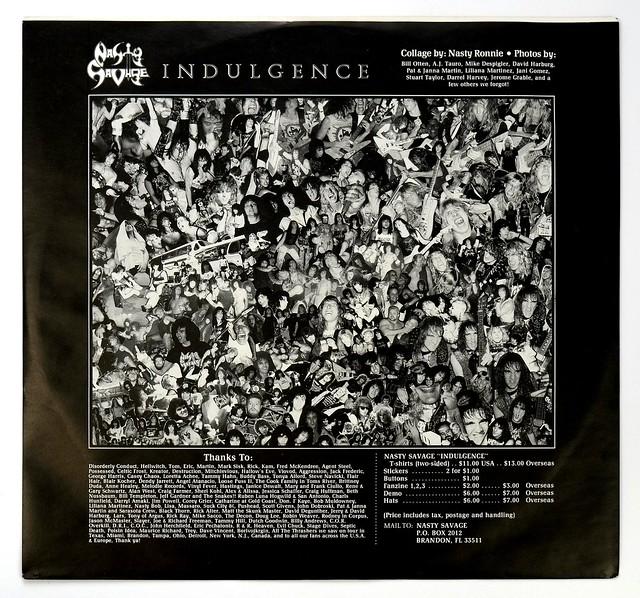Nasty Savage Indulgence Vinyl LP