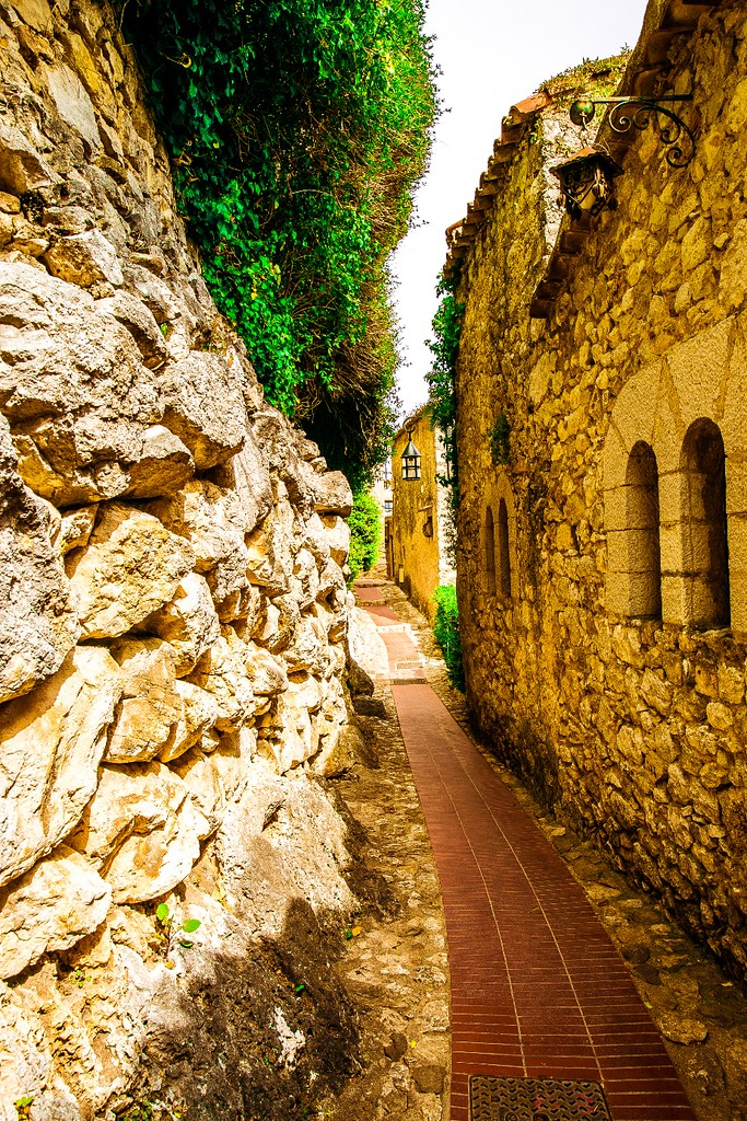 Beautiful Eze Village in Southern France