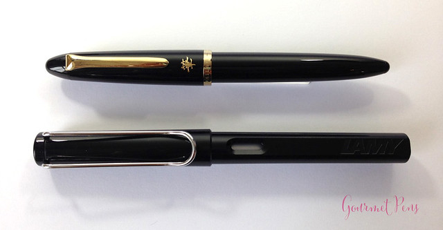 Review Sailor Profit Calligraphy Brush Pen @couronneducomte 9