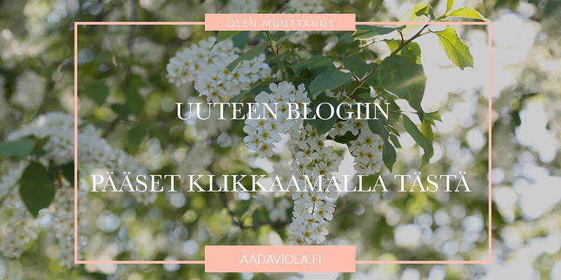 uuteen blogiin