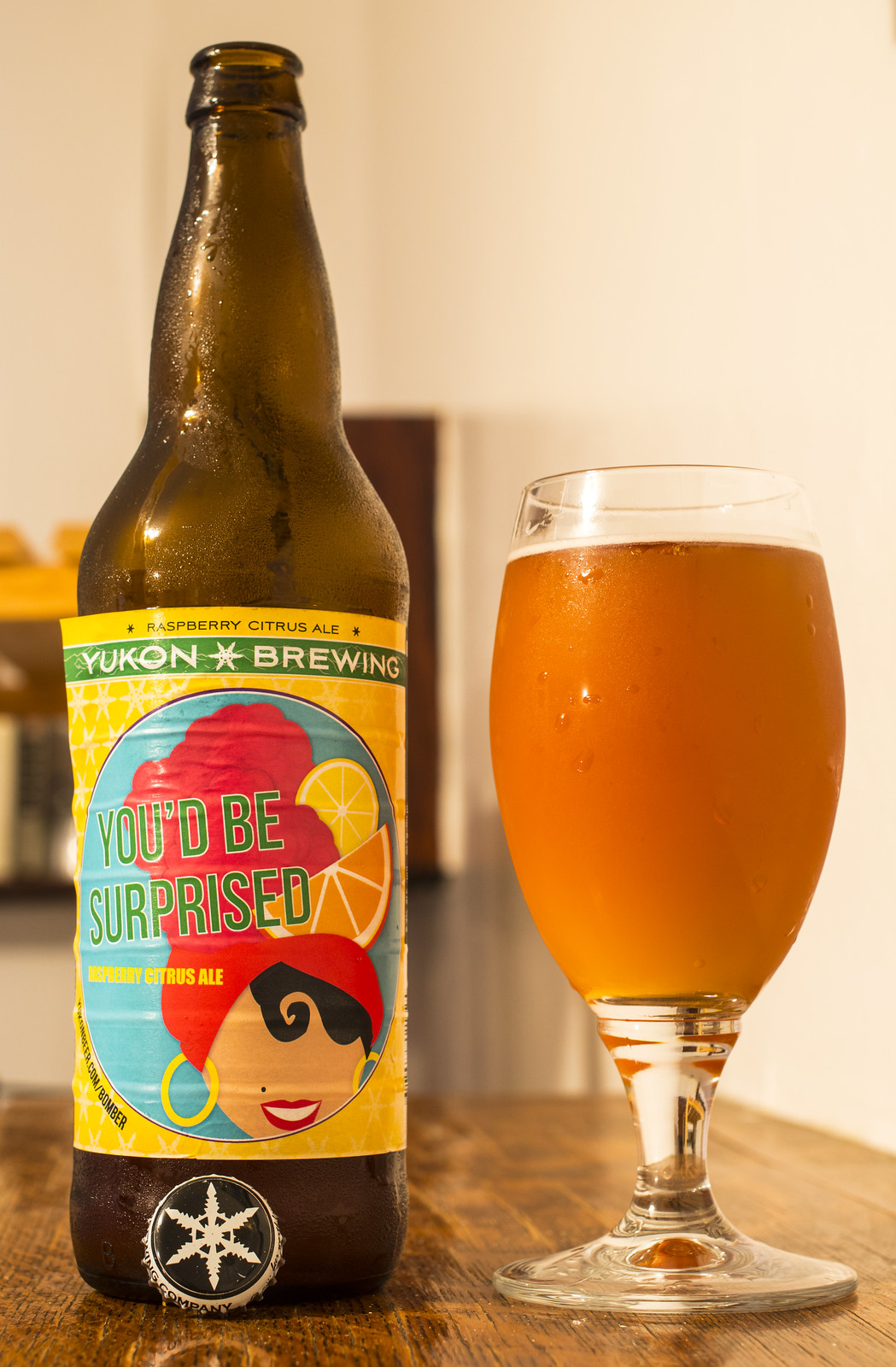 Yukon You'd Be Surprised Raspberry Citrus Ale
